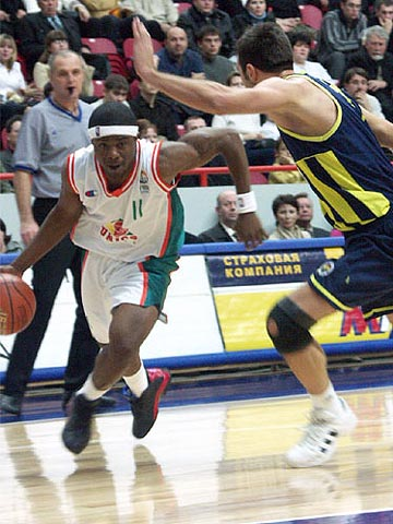 Shammond Williams (#11, UNICS)